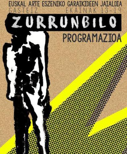 Euskal teatroaren zurrunbiloan sartuko da Gasteiz astebetez