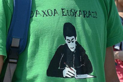 Baxoa euskaraz: ikasleen aldarrikapenak indarrean