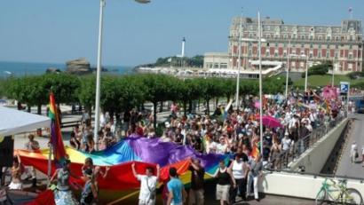 Biarritzen gay eta lesbianen harrotasun eguna egingo da ekainaren 18an