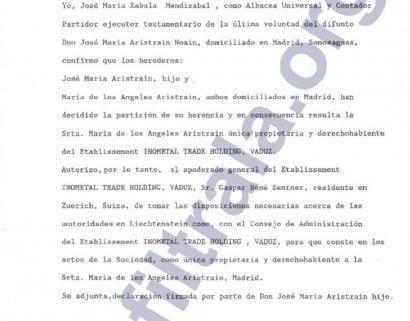 ArcelorMittali lotutako Aristrain familiak milioika euro ezkutatu zituen Liechtensteingo sozietate opakoetan