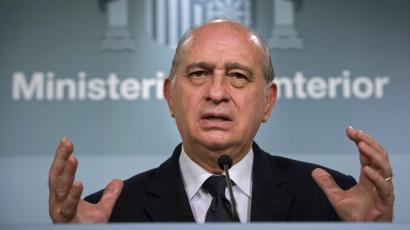 Espainiako Barne Ministro Fernandez Diaz ERCren aurka konspiratzen grabatu dute