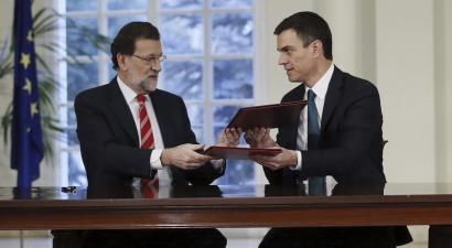 """""""Salbazio nazionaleko"""" gobernua eskainiko dio Rajoyk PSOEri"""