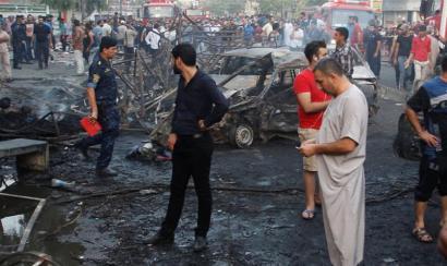 130 lagun hil ditu Estatu Islamikoak Bagdaden