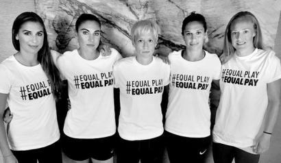 #EqualPlayEqualPay, gizonezko futbolarien tratu bera aldarri