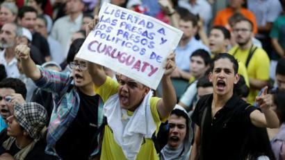 Paraguai: 35 urte arteko zigorrak Curuguatyko hilketengatik epaitutako nekazariei