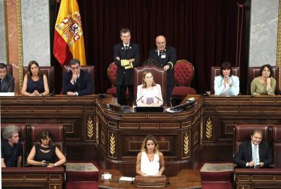 PPk kontrolatuko du Espainiako Kongresuko mahaia, aurreikusi gabeko babesarekin