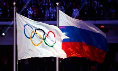Atleta errusiarrak Rioko Joko Olinpikoetatik at