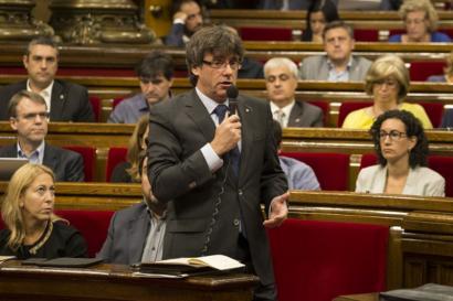 Aldebakarreko erreferenduma gertuago Katalunian