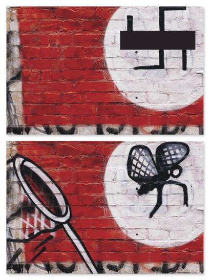 #Paintback: nola egin graffiti ikusgarriak, bide batez naziak izorratuz