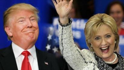 Estatubatuarren %57k ez du Clinton eta Trumpen artean hautatu nahi