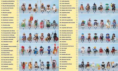 Historia Playmobileko 60 gizon-figuren bidez kontatuta