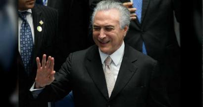 Brasilgo azpiegiturak pribatizatu nahi ditu Rousseffen ordezko presidente berriak