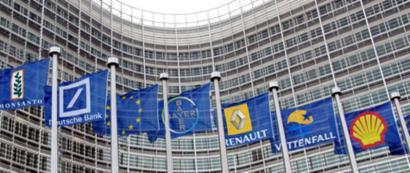 Multinazionalek biderkatu egin dute EB presionatzeko lobbyen aurrekontua