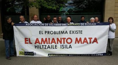 Amiantoaren biktimentzat diru-funtsa sortzeko eskatuko dio Nafarroak Espainiako Gobernuari