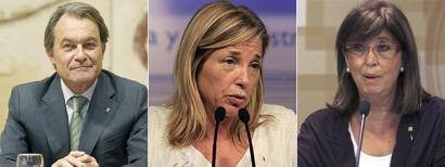 Kataluniako Auzitegi Nagusiak atzera bota ditu Mas, Ortega eta Rigauren errekurtsoak