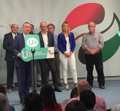 """""""Etorkizuneko gobernu sendo bat osatzea izango da ahalegina"""""""
