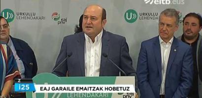 """""""Argi eta garbi geratu da Euskadi desberdina dela"""""""