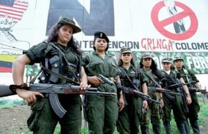 Kolonbiako bake akordioa: zein da FARCeko emakumeen egoera?