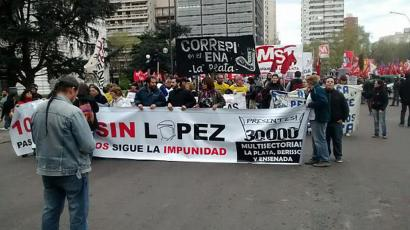 30 orduro hildako bat polizia argentinarraren eskuetan