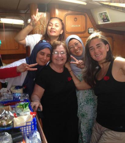 Israelgo armadak 'Emakumeak Gazara Bidean' ontzia atzeman du