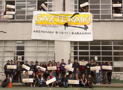 Barañainen eginen dituzte Gazteraiki topaketak, abenduaren 9tik 11ra