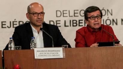 ELN gerrillarekin ere bake elkarrizketak egingo ditu Kolonbiako Gobernuak