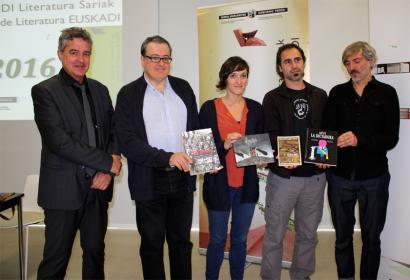 Uxue Alberdik eta Mitxelko Urangak jaso dituzte Euskadi Sariak