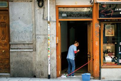 Espainiako etxeko langileek lehen aldiz egin dute biltzarra