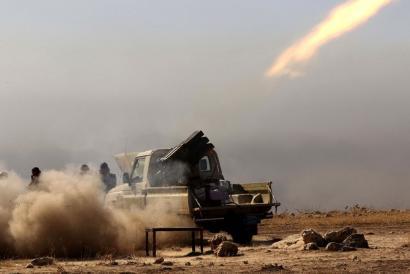 Abian da Mosuleko gudua, Estatu Islamiarraren aurkako eraso handia Iraken
