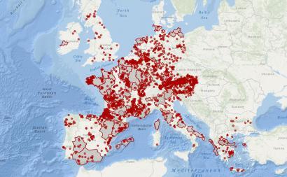 TTIP, CETA eta TiSAren aurkako hiri eta lurraldeak Europan