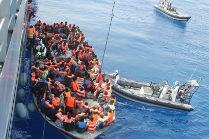 """2016 """"urterik hilgarriena"""" Mediterraneo itsasoan"""