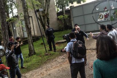 Brasilgo Polizia tiroka sartu da MSTko formakuntza eskolara