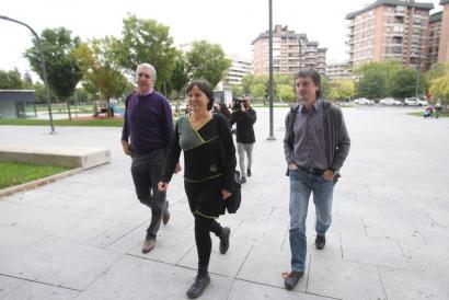 Baztango alkate ohia epaitegian Lekarozko Aroztegiaren proiektuaren aurka egiteagatik
