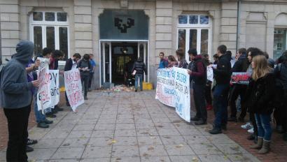 Arabako Campusean Nekane Balluerkak izandako boikota salatu du EHUk