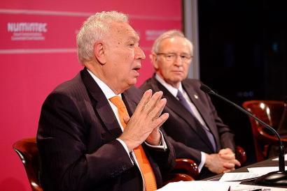Espainiako Gobernuaren barneko desadostasunak nabarmendu ditu Margallo ministro ohiak
