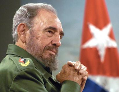 Astelehenetik igandera kubatarren agurra jasoko du Fidel Castrok