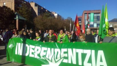 Durangoko manifestazioa (Arg.: Independentistak)