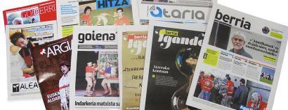 """""""Aitortza eta babesa"""", euskal hedabideon eskaria Eusko Jaurlaritzari"""