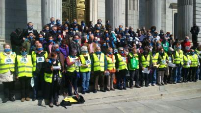Espainiako oposizioak ez du onartzen Mozal Legea mantentzeko PPren proposamena