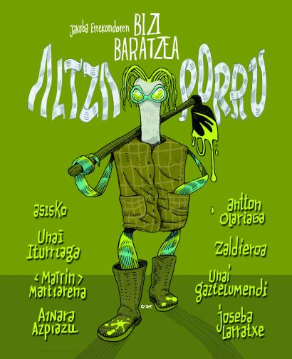 'Altza Porru' komiki liburua aurkeztuko da asteazkenean Hernanin, Ainara Azpiazuren 'Arian Arian' erakusketaren barruan