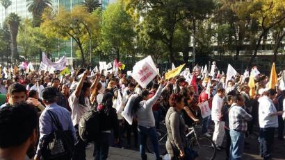"""""""Gasolinazoaren"""" ondoren errepresioa Mexikon: dozena erdi hildako eta 1.500 atxilotu"""