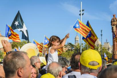 Katalunia, prozesu soberanista eta 'prozesismoa'ren artean