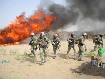 4.000 soldadu gehiago bidali ditzake Trumpek Afganistanera.