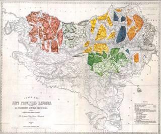 Euskalkien mapa
