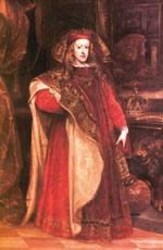 Karlos II.a makurraren gaztetako erretratua