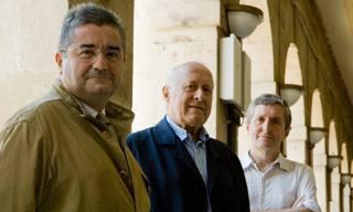 Txema Montero, Xabier Arzalluz eta Jose Mari Esparza