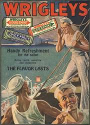 Txiklea ona da marinelen hortzentzat, gosearentzat eta digestioarentzat, 1918ko iragarki honen arabera.
