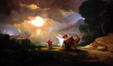 Lot Sodomatik ihesi (Benjamin West, 1810)