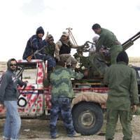 �Erlijioaren eta askatasunaren aldeko gerra� da shebabek Gaddafiren aurka abiatutakoa.