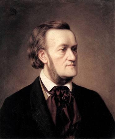 Wagnerrek 1849an Beethovenen  9. sinfoniaren entsegu nagusia zuzentzen zuela, polizia atzetik zuen Bakunin sartu eta